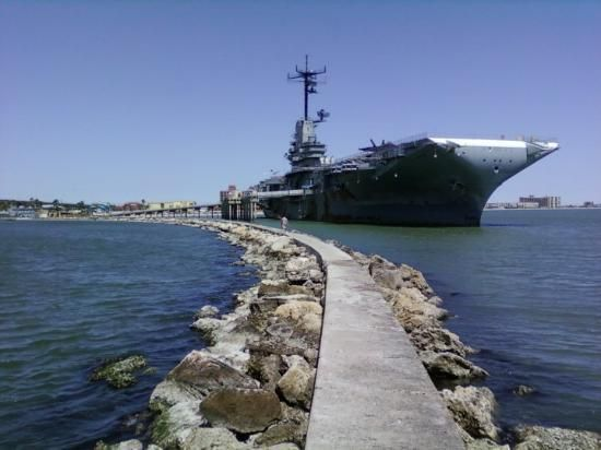 "U.S.S. Lexington Museum on the Bay or ""Lady Lex"", Corpus Christi, Texas (got to tour this once! Also saw fire works shot off it for 4th of July!)"