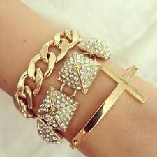 Chain and cross