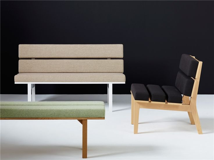 Kamon, sofa, easy chair, bench, wood, seating, Karl Andersson & Söner