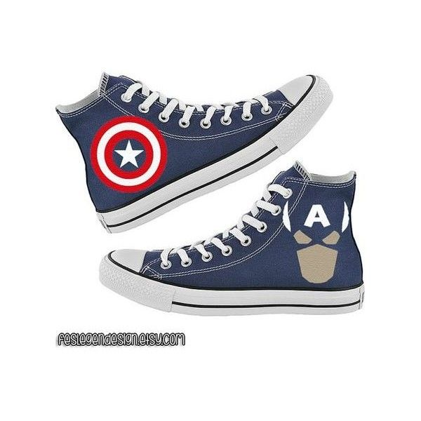 Marvel Captain America Jumbo Logo Football Jersey T-Shirt (Women's) and other apparel, accessories and trends. Browse and shop 8 related looks.