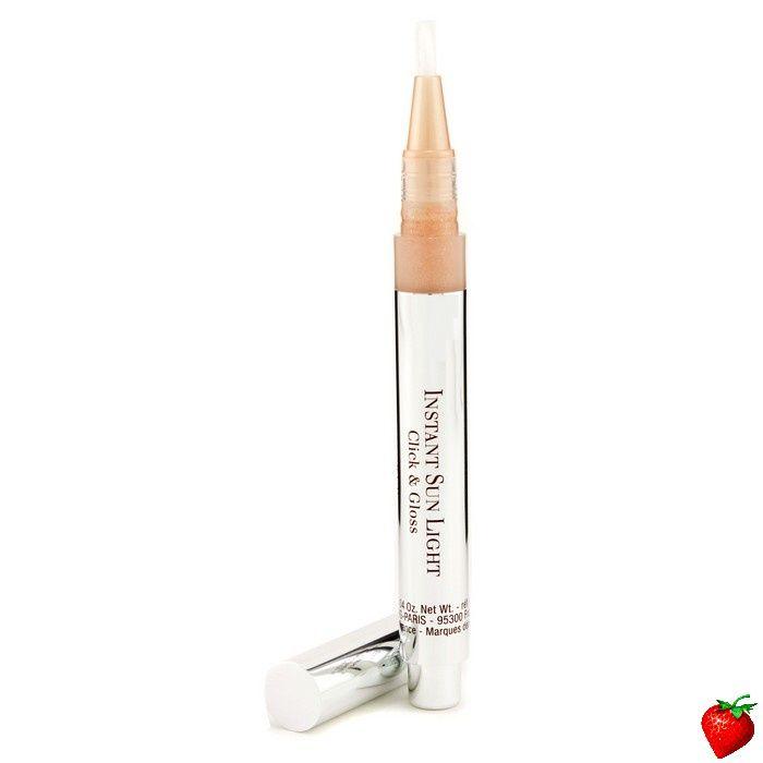 Clarins Instant Sun Light Click & Gloss SPF 6 - # 01 Vanilla 1.6ml/0.04oz #Clarins #MakeUp #SummerSpecials #Summer #Beach #Beauty #HotPick #FREEShipping #StrawberryNET