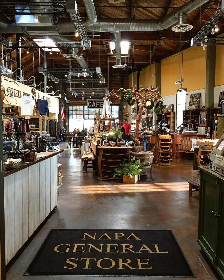at the Napa General Store in downtown Napa, California