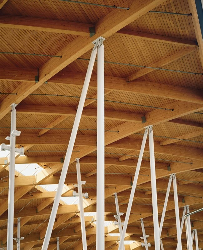 Pictures - Canadian Plaza at the Peace Bridge - Detail of Customs and Immigration building - Architizer