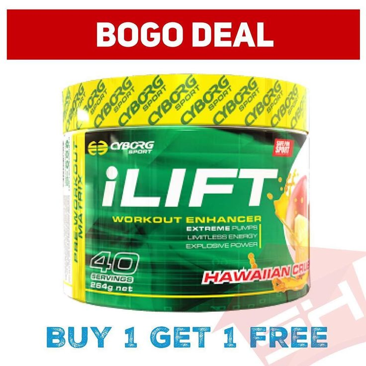 BOGO DEAL  Buy 1 @cyborgsport iLift Get 1 Free. While stock lasts. Get in fast.  Get it at suppshouse.com.au  #weightraining #weights #workout #exercise #training #pushyourself #strength #strong #supplements #fit #fitness #gym #heathy #lift #bodybuilding #nutrition #motivation #muscle #fitfam #fitspo #afterpay