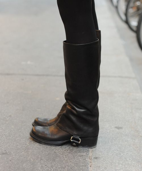 Rock 'n' Roll Style ✯ Miu Miu boots - I need a pair of boots like these!!!