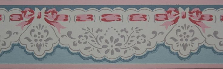 Rosie's Vintage Wallpaper - Trimz Vintage Wallpaper Border Pierced Scallops, $18.00 (http://www.rosiesvintagewallpaper.com/trimz-vintage-wallpaper-border-pierced-scallops/)
