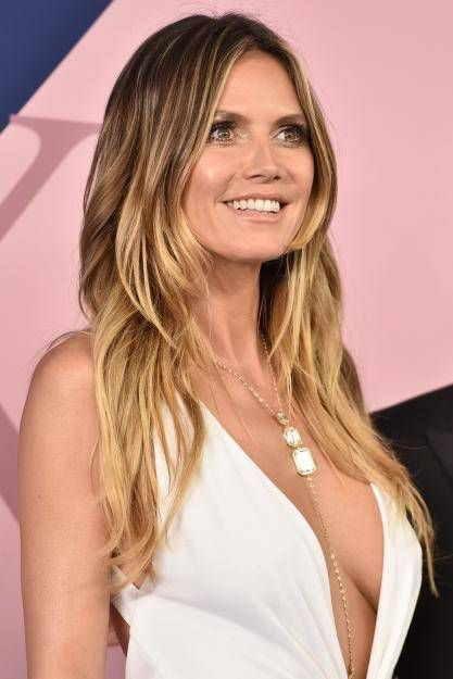 Best 25 heidi klum ideas on pinterest heidi klum hair heidi bei den cfda awards in new york prsentiert heidi klum ganz offen ihr dekollet urmus Images