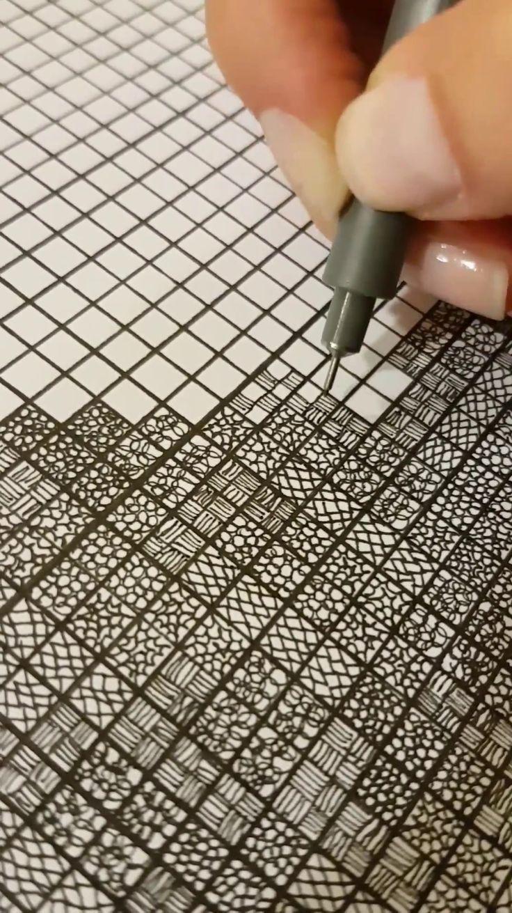 Video on my Tumblr :) #illustration #sketch #sketchbook #doodle #pattern #patterndesign
