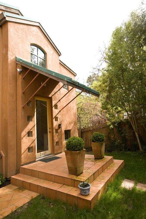 Saltillo Tile Porch In Menlo Park New Home Construction By Bill Fry  Construction   Wm.
