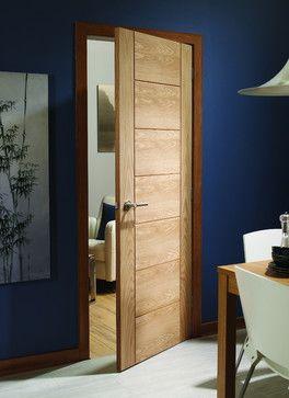 Palermo Oak Internal Door - contemporary - interior doors - london - Modern Doors Ltd