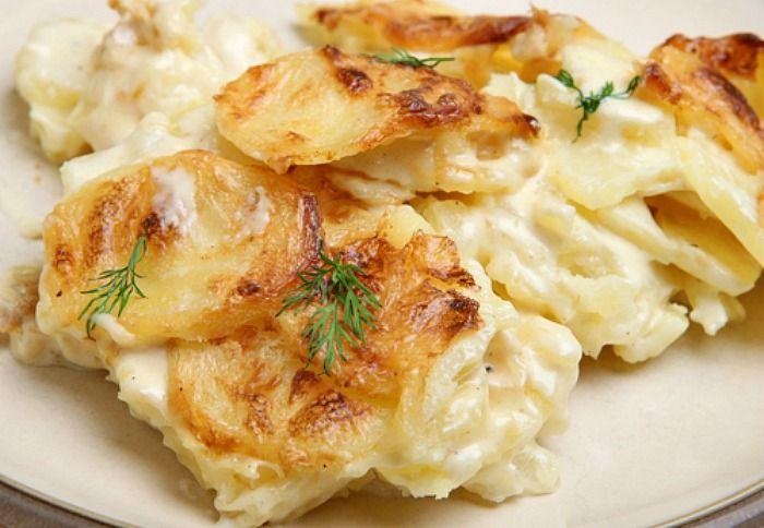 Scalloped Turnips Recipe — Dishmaps
