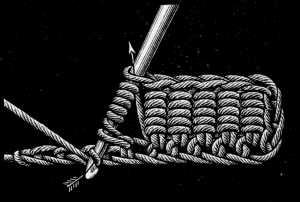 bullion crochet how-to