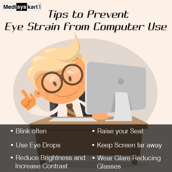 #Medisys #FitTips :- If you are a #student or a #professional, usage of #Computers affects your eyes, so here are some tips to protect your #eyes.