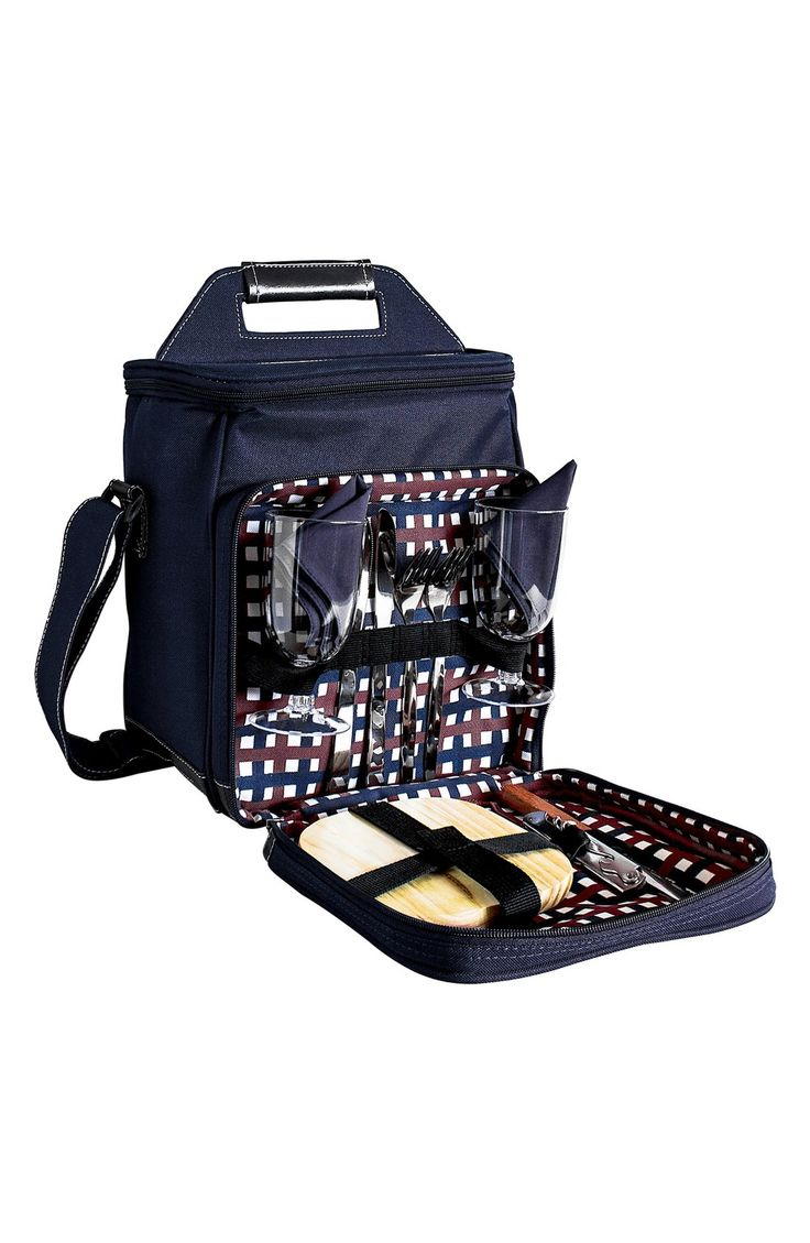 Main Image - Cathy's Concepts Monogram Picnic Cooler