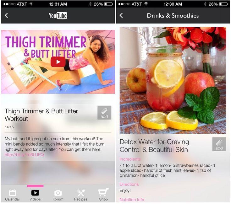 blogilates app faves