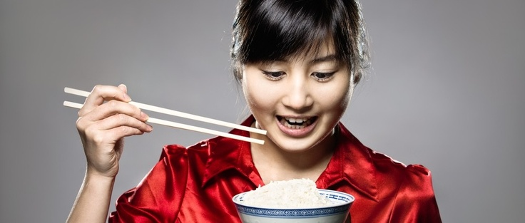 Waarom eten Chinezen en Japanners met stokjes?