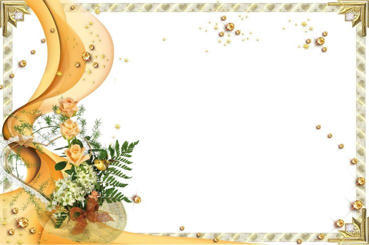 Free Wedding Invitation Background Designs: Wedding Card Design Free Download. Frame Wedding