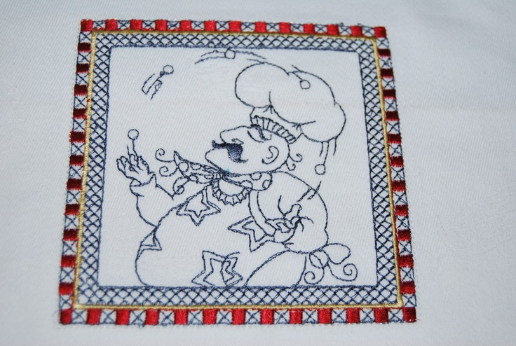 Another chef design - A set of 10 designs 5 framed and 5 without frames- uses 5x7 frame.