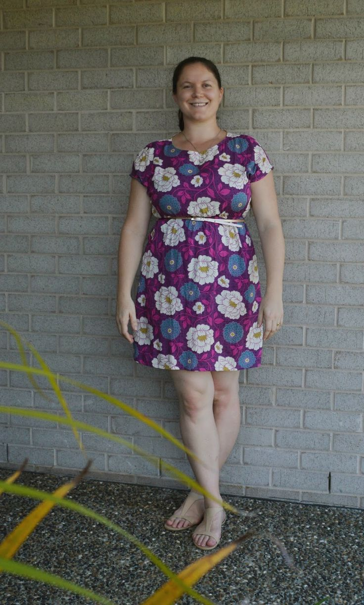 Another Staple Dress.... Pattern by April Rhodes, sewn by Patterns and Projects…
