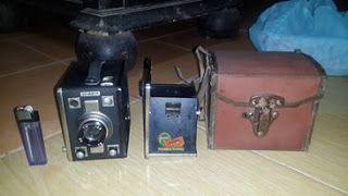 antiQue Bekasi: 2 camera kotak eropa