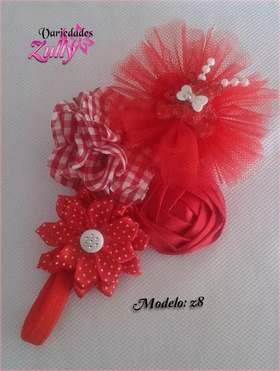 27810 best hair bows headbands images on pinterest - Lazos para bebes ...