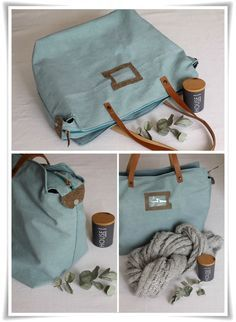 Fiche explicative sac week end {tuto inside} (Angel Mélie)