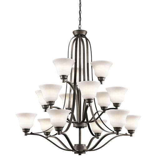 Kichler kk1789oz langford large foyer chandelier chandelier olde bronze at ferguson com