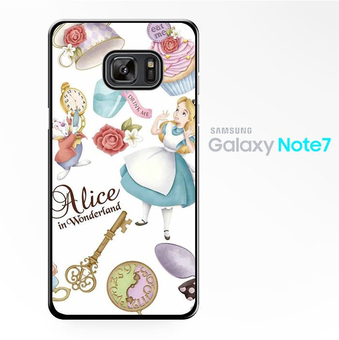 Alice Wallpaper for Samsung Galaxy Note 2/Note 3/Note 4/Note 5/Note Edge Phonecases