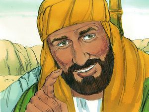 'The prophet Isaiah is talking about Jesus,' Philip explained. Then he told him how Jesus had died and risen from the dead so anyone could have their sins forgiven. – Slide 8