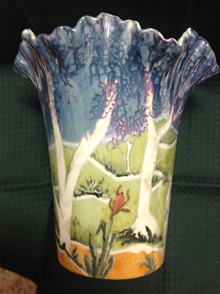 Jillian Varga Other side of vase.