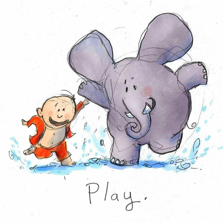 Play. ~ Buddha Doodles