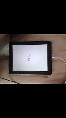 Apple iPad 4th Generation 16GB Wi-Fi 9.7in - Black (with Engraving) (Latest...