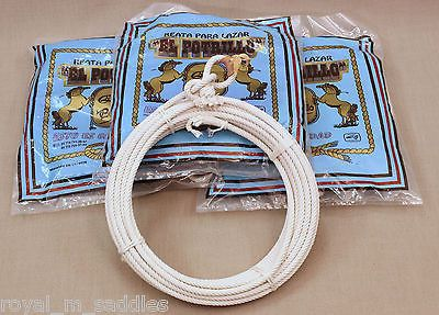 LOT OF 4 - CHARRO COTTON ROPE