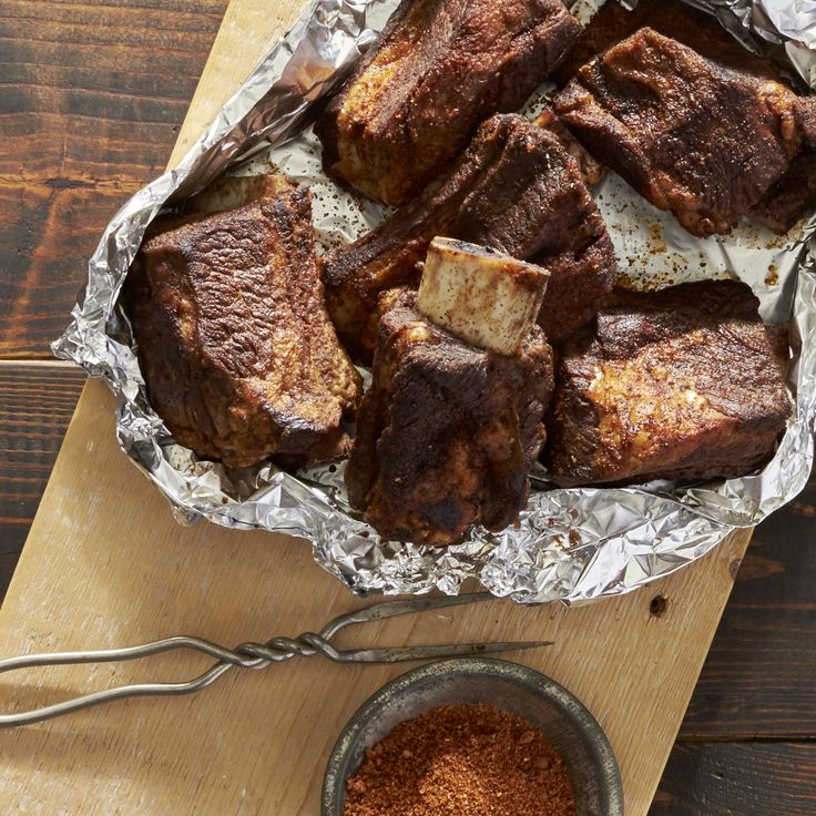 Grilled Short Ribs Recipe - BBQ Short Ribs   Reynolds Kitchens - Make some simple Meal Magic with this delicious recipe from Reynolds Kitchens.