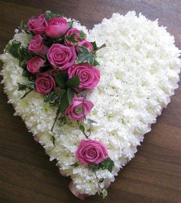 Corazón para funeral/Funeral heart