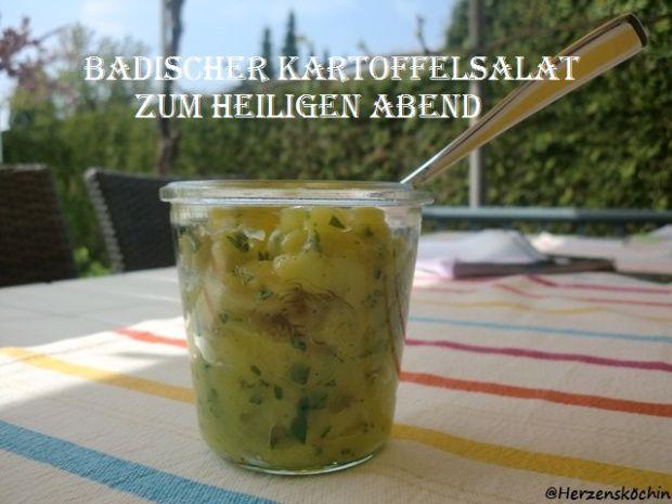 Badischer Kartoffelsalat zum Heilig Abend