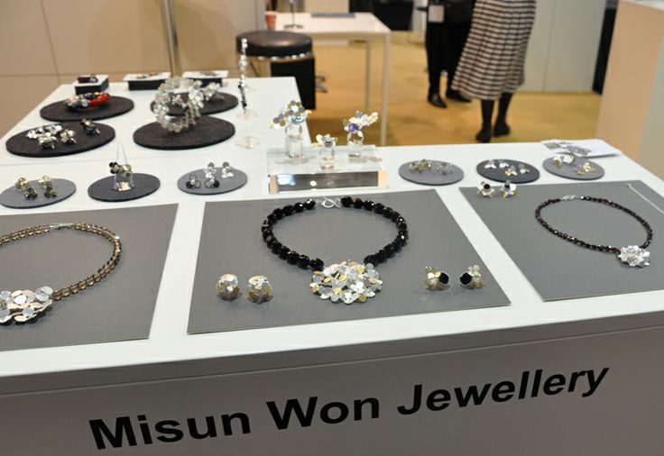 Jewellery by Misun Wong. British jewellers showcased work at Inhorgenta this weekend, including a number that were supported by the UKTI, BJ...