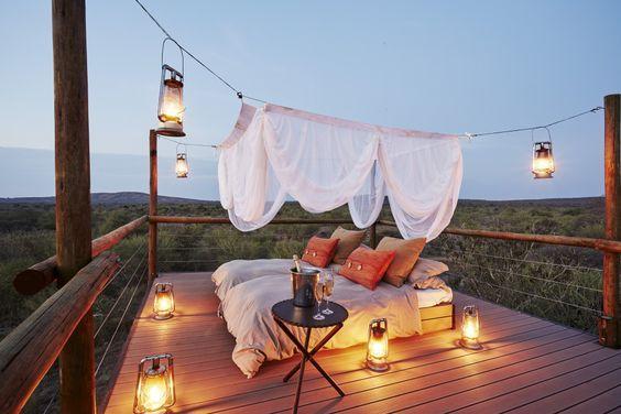 Makanyane Safari Lodge na África do Sul