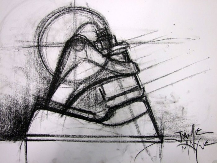 SKATE DRAWINGS FROM WAY BACK | On My Off Days