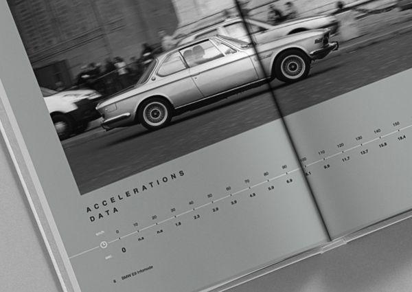 BMW E9 Infomode by Alexey Filin, via Behance