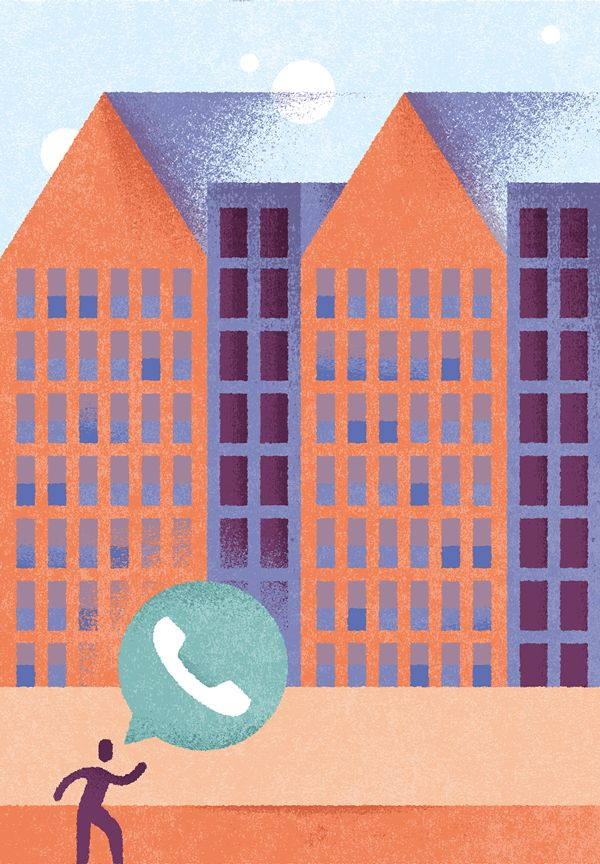 Sozavox - Phone calls on Behance