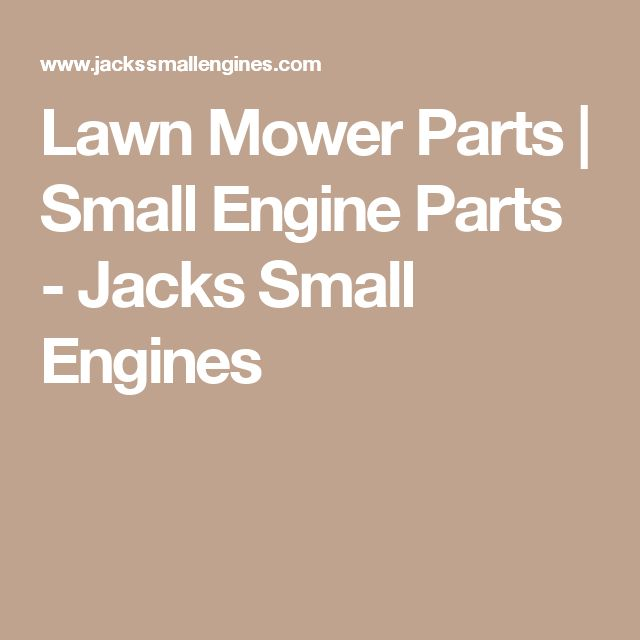 Lawn Mower Parts | Small Engine Parts - Jacks Small Engines