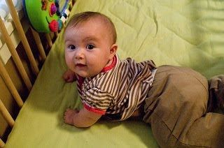 MyFrugalBabyTips.com: Easy Sliding  -- Rub some waxed paper over the metal runners of your baby's high-chair tray a few times, and the tray will slide on and off much easier.  Read more: http://www.myfrugalbabytips.com/2012/07/misc-tip-easy-sliding.html