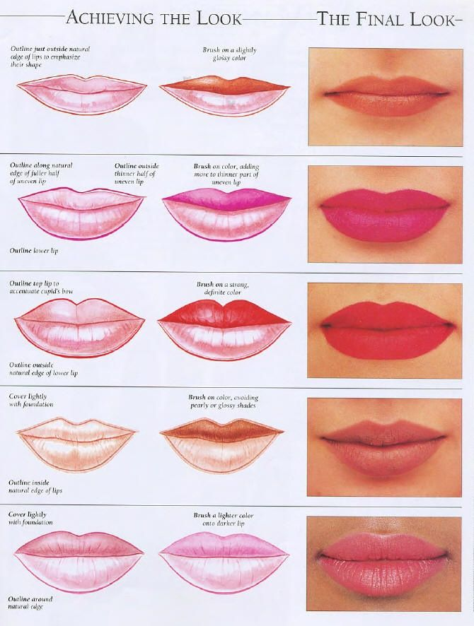 How To Make Up Lips Especially Good For Those Thin Lipped -8519