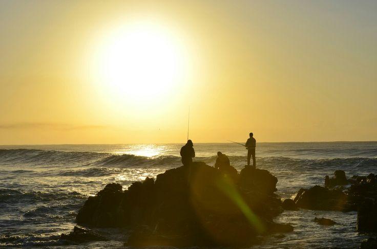 Sunrise and the fishermen