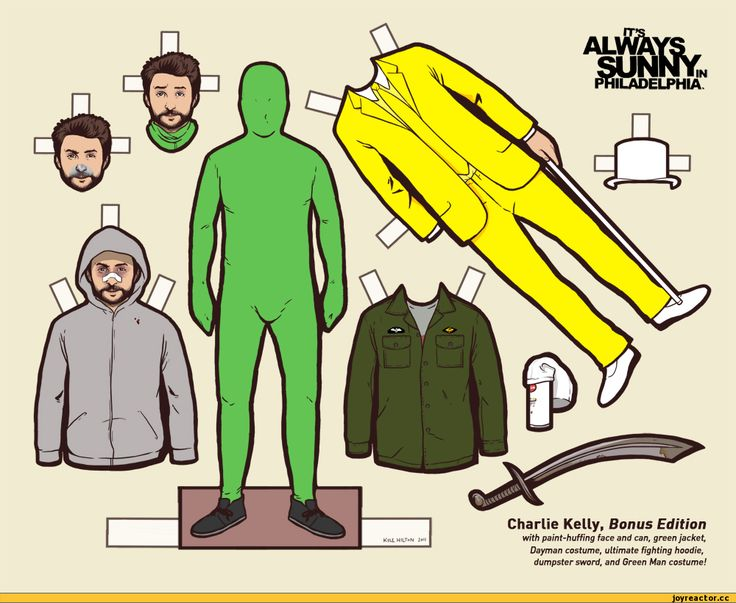 Images For > Charlie Kelly Dayman Costume