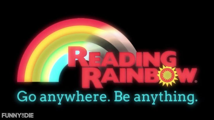 An Updated Version of the 'Reading Rainbow' Theme Song Showcasing the True Power of Books by Funny or Die
