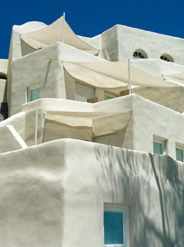 Milk Villa on Santorini, Greece.