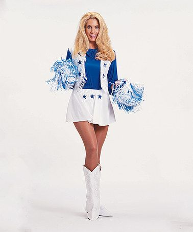 Look what I found on #zulily! Dallas Cowboys Cheerleader Costume - Women's…
