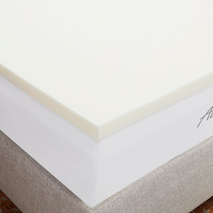 Authentic Comfort® 2 Inch Breathable Memory Foam Mattress Topper